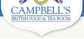 Campbells British Food & Tearoom Logo